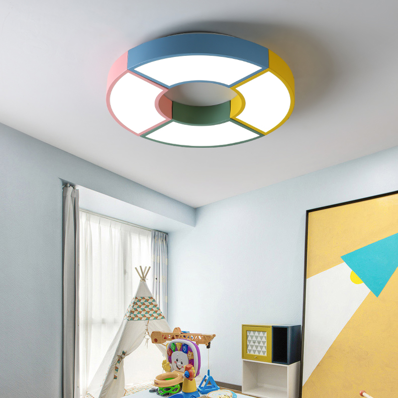 LED Modern Ceiling Light Colorful Remote Control Indoor Lighting Fixture for Children Kid Room Bedroom Home Decoration Cute LampLED Modern Ceiling Light Colorful Remote Control Indoor Lighting Fixture for Children Kid Room Bedroom Home Decoration Cute Lamp