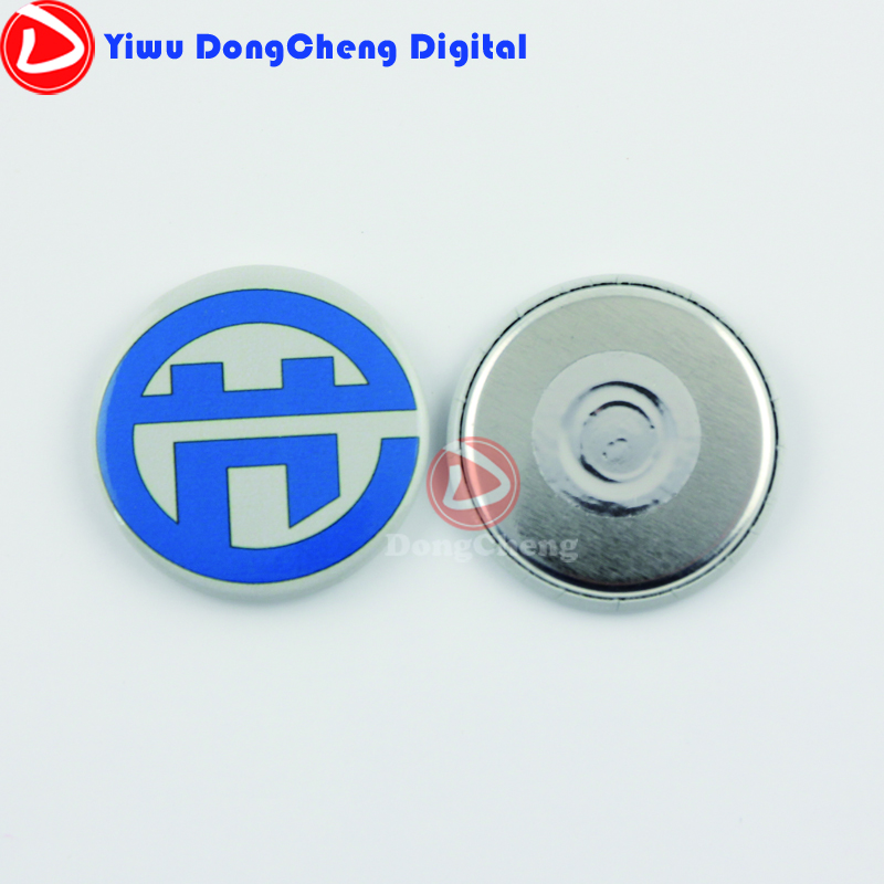 Factory direct sale 1000stes(37mm) magnetic badge button material ,use badge machine to make 20cm factory direct sale high to want to chop green toe ms is cool procrastinate professional design style unique