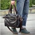 Novo 2017 homens viajam sacos de couro de negócios saco de viagem de lazer homens messenger bags bolsas bolsas femininas