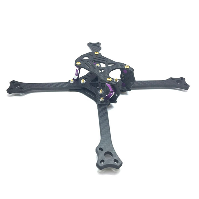 3B-R 211 Positive X Arm Frame Kit 211mm Wheelbase RC Quadcopter FPV Racing Drone 5mm Arm Carbon Fiber 72g VS GEPRC Frame Kit