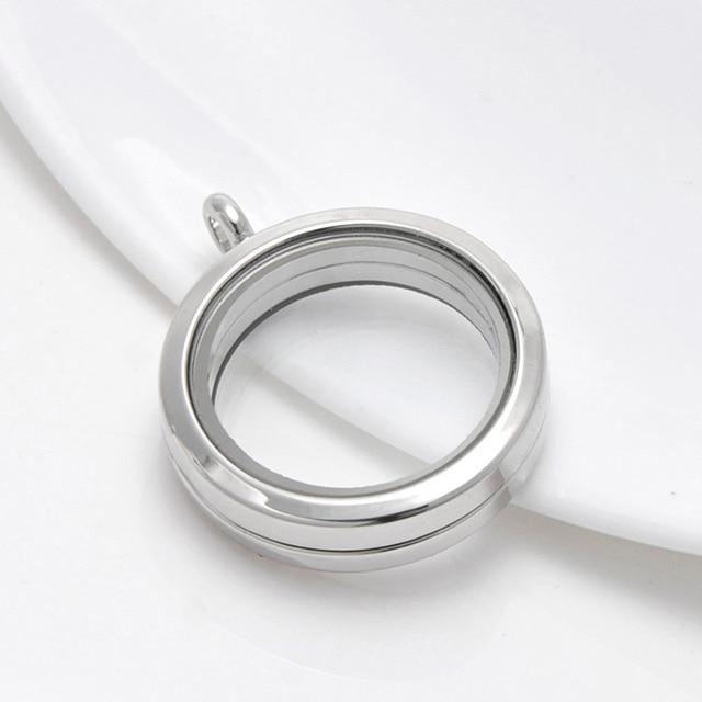 Фото 1 шт родиевое ожерелье 30 мм с магнитным стеклом цена