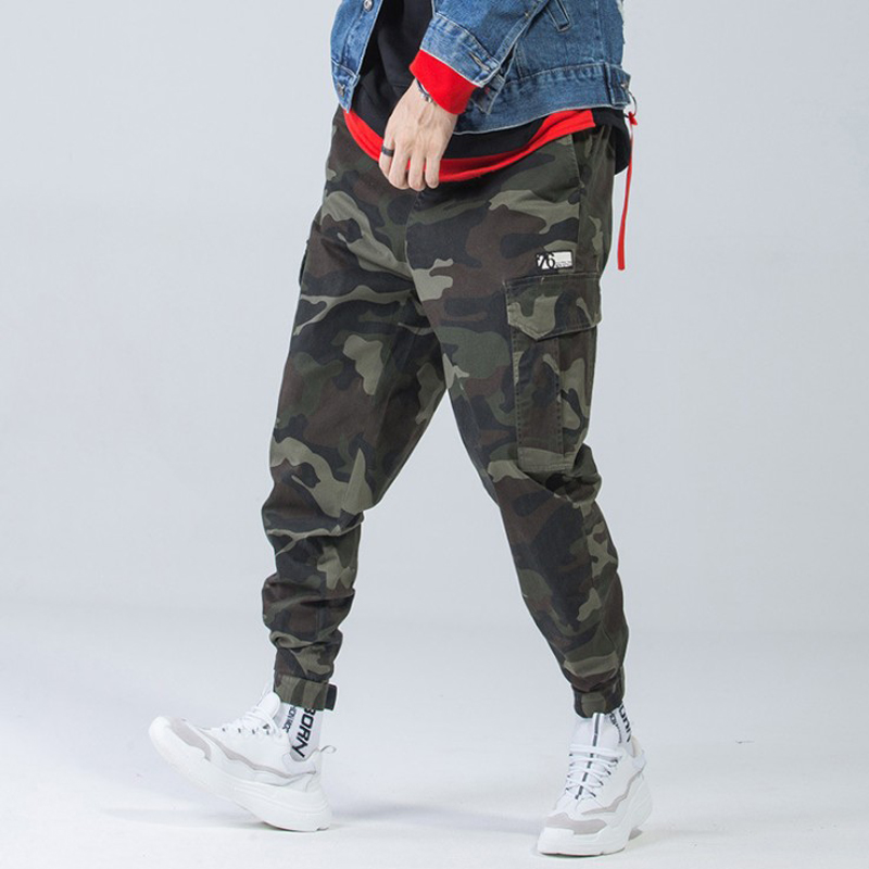 meet special price for real quality US $24.83 8% OFF|2019 Men Fashion Streetwear Mens Jeans Jogger Pants Youth  Casual Spring Ankle Banded Pants Brand Boot Cut European Jeans Pants-in ...