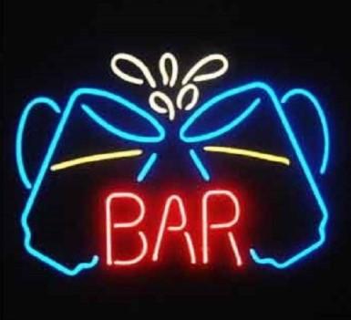 Beer Bar Glass Neon Light Sign Beer Bar
