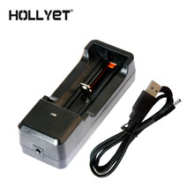 Фотография HOLLYET USB 5V INPUT CHARGER 18650/26650/14500/16340/ 3.7V LITHIUM BATTERY CHARGER 4.2V 1A OUTPUT CE ROHS FREE SHIPPING