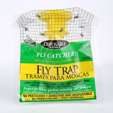 Nieuwe aankomst wegwerp vliegenval voor de zomer outdoor tuin vliegenvanger bug insect moordenaar ongediertebestrijding producten 1 st