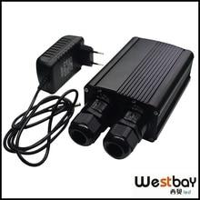 20 Вт DMX led оптическое волокно свет двигателя, светодиодный осветитель для DIY домашнего декоративное освещение, популярная Бразилия, РУСС, США