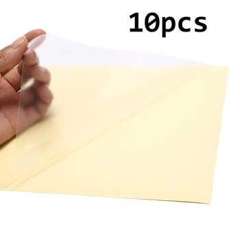 10 แผ่น A4 Self Adhesive สติกเกอร์ Matte พื้นผิวแผ่นกระดาษสำหรับเลเซอร์อิงค์เจ็ทเครื่องถ่ายเอกสารกระดาษหัตถกรรม - DISCOUNT ITEM  16% OFF อุปกรณ์ออฟฟิศและการเรียน