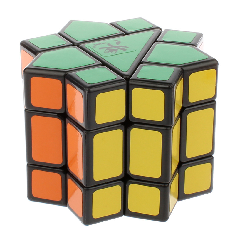 DaYan Burmuda Star Magic Cube White Balck Stickerless Puzzle Speed Magic Cubes Cubo Magico Educational Special