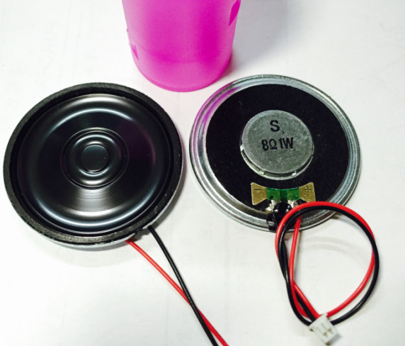 Fast Free Ship 20pcs 8R 1W diameter 40MM,thick 5MM Conqueror horn Electronic dog Speaker ...