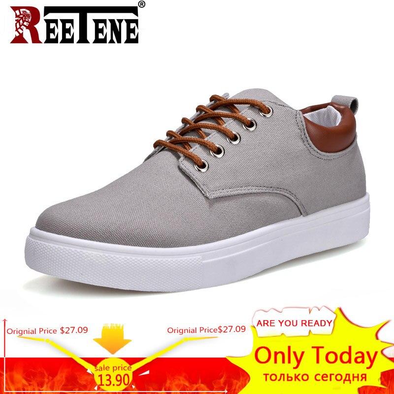 Neue Ankunft Frühling Sommer Komfortable Casual Schuhe Herren Leinwand Schuhe Für Männer Lace-Up Marke Mode Flache Müßiggänger Schuhe