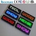 Leeman программируемый светодиодный экран знаки, светодиод прокрутка сообщения бейдж, led ценник