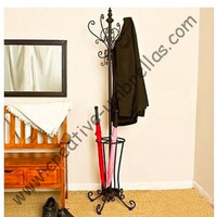 Professional selling umbrella stand/rack,wrought iron,metal coat rack,europe new style,for umbrella storage,free shipping by Ems