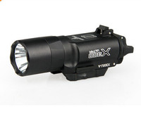 Free Surefir X300 LED Weapon Light Air gun Flashlight for For Sniper airgun Rifle Hunting accessories
