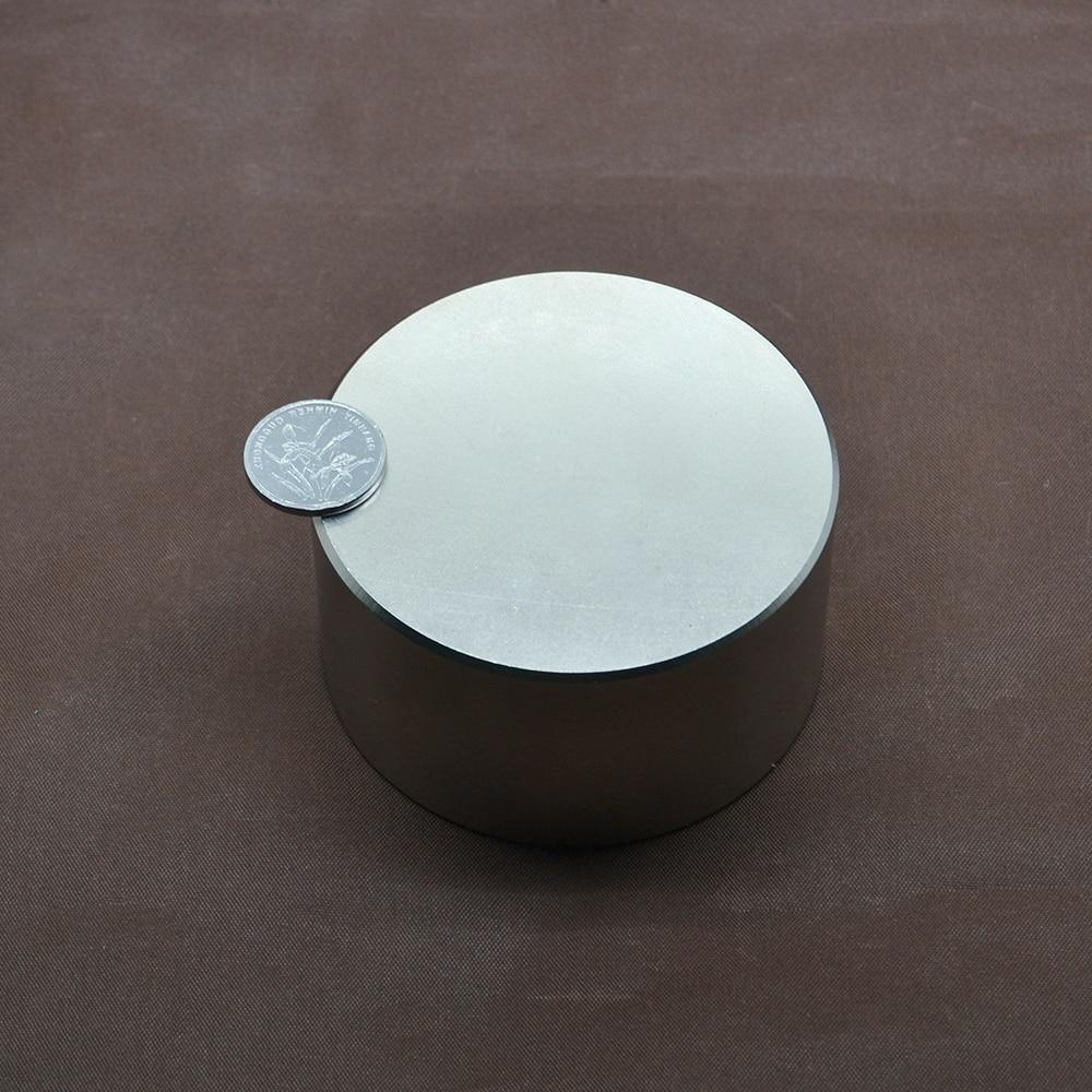 1 pièces N52 aimant néodyme 70x40mm métal gallium chaud super fort aimants ronds 70*40 puissants aimants permanents - 4