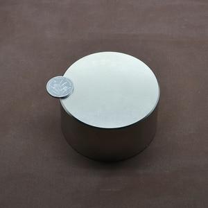 Image 4 - 1pcs N52 Neodymium magnet 70x40 mm gallium metal hot super strong round magnets 70*40 powerful permanent magnets