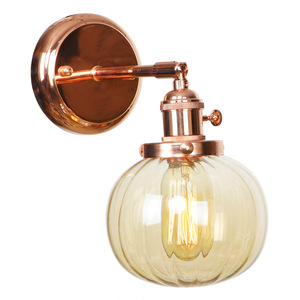 IWHD Nordic Japan Style Wall Lamps Bedroom Bathroom Mirror Light Rose Gold Iron Metal Glass Ball LED Wall Lights Sconce Wandlamp LED Indoor Wall Lamps Lights & Lighting -