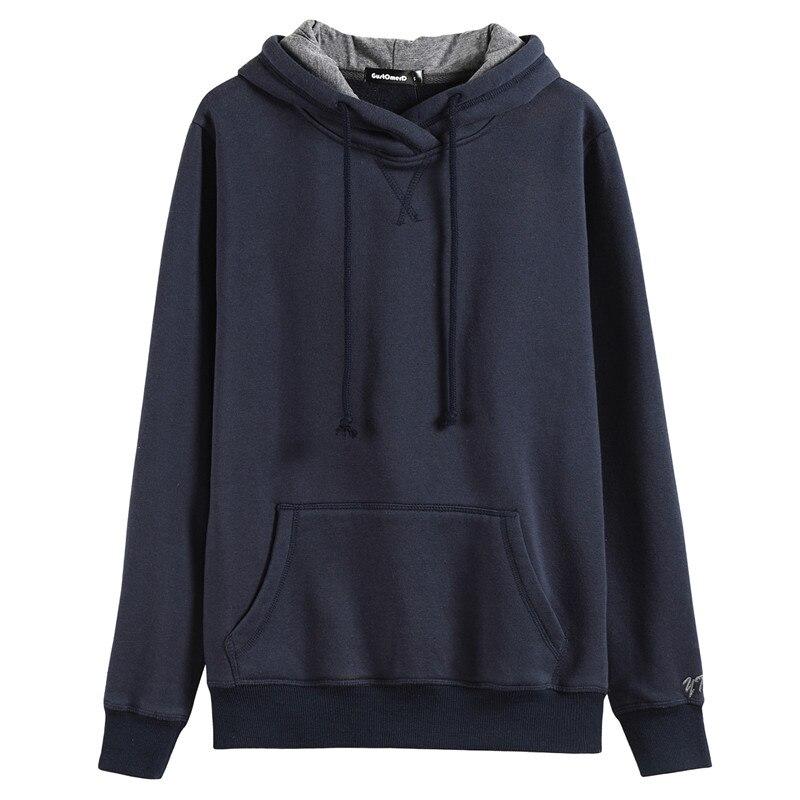 GustOmerD Autumn Spring Hoodie Men Hooded Solid Sweatshirts Men Women Hoodie Fitness Streetwear Male Casual Pullovers Tops