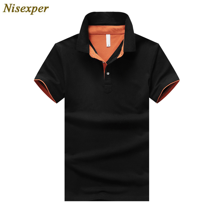 Men Brand Clothing   Polos   Mens Cotton   Polo   Shirts High Quality Solid Casual Stand Collar Male   Polo   Shirt Plus Size 4XL