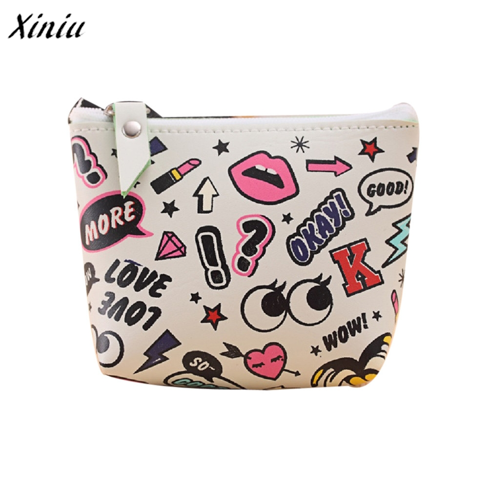 Women Girls Cute Coin Purse Fashion Mini Change Pouch Key Holder Wallet Bag carteira feminina portefeuille femme porte carte women girls snacks coin purse wallet cute fashion bag new travel change pouch key holder wholesale2017gift hiht quality carteira