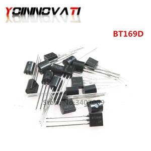 50 PÇS/LOTE BT169D BT169 TO-Triacs Tiristor SCR 400V 9A 92 3-Pin SPT