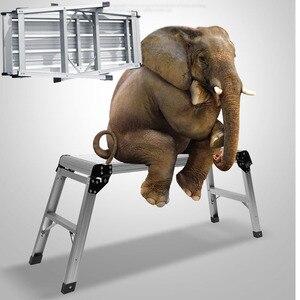 Image 2 - 16%, yamuk sandalye açık Al ışık adım dışkı 150kg adım merdivenler çamaşır hafif araba koltuğu şerit banyo duş ayak taburesi