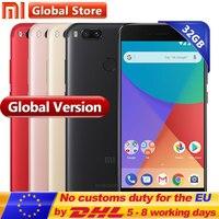 Global Version Xiaomi Mi A1 MiA1 4GB 32GB Snapdragon 625 Octa Core Android One Mobile Fingerprint