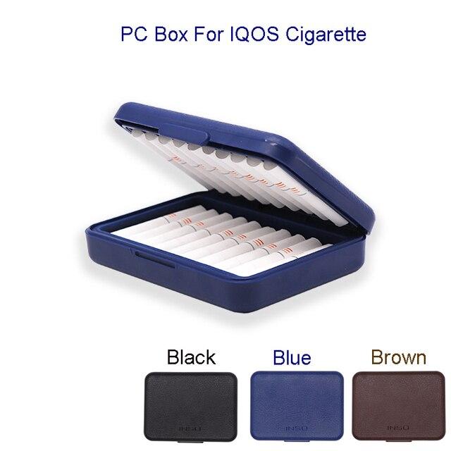 Модная противопылевая поликарбонатная коробка для сигарет IQOS для сигарет Lil, защитный чехол для сигарет