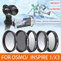 DJI Lens MCUV CPL ND4/ND8/ND16 Filtro Graduado Lente Filtro Da Estrela Para DJI OSMO e Inspie 1 Zenmuse Câmera X3