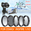 DJI Lens MCUV CPL ND4/ND8/ND16  Star Filter Graduated Lens Filter For DJI OSMO and Inspie 1 Zenmuse X3 Camera