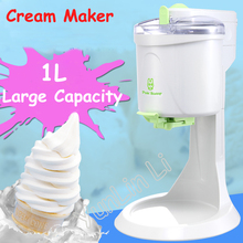 купить Desktop Ice Cream Machine Household Automatic Hard Cone Ice Cream Machine 1L Large Capacity DIY Fruit Ice Cream Maker BL-1000 по цене 4163.19 рублей