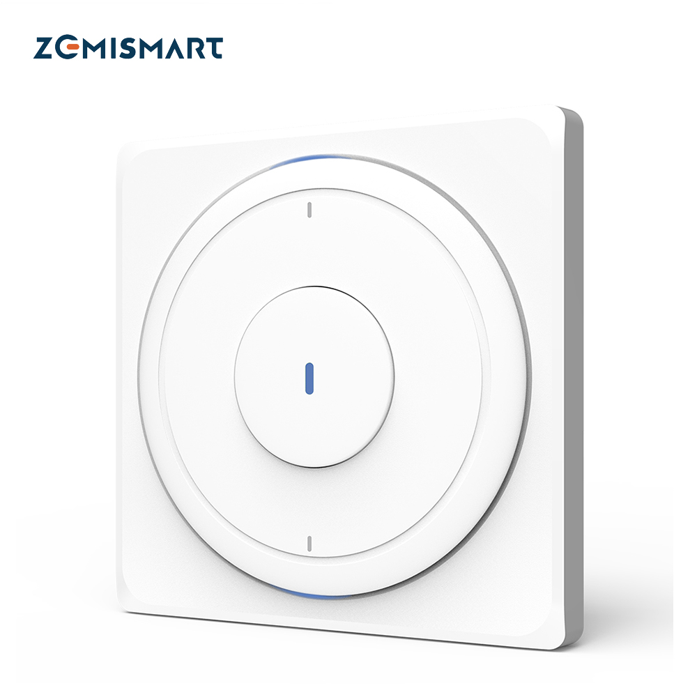 Zemismart UE WiFi pared empuje interruptor de luz Alexa Google vida inteligente de Control de una banda de dos bandas tres bandas física interruptores