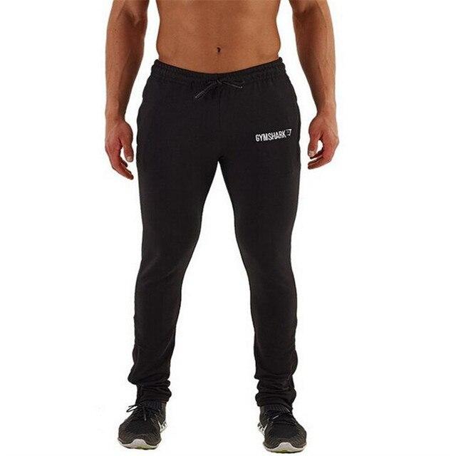 2017 Мышцы мужская бодибилдинг брюки мужчин работает фитнес брюки спортивные залы человек брюки xxl черный тонкий спортивные брюки человек мягкий тренировочные брюки