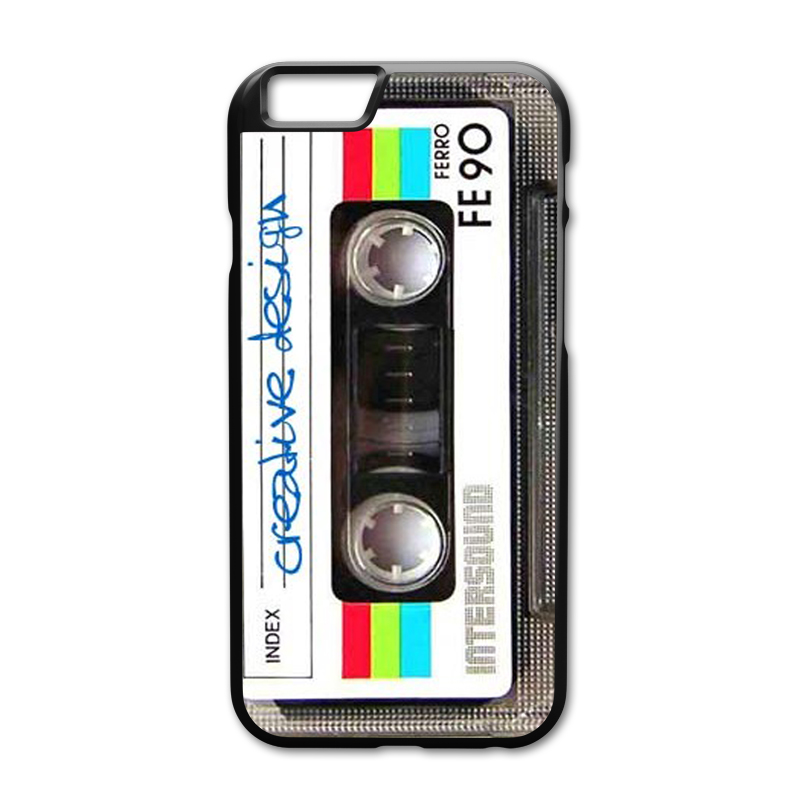 Cassette tape Cover Case for Huawei Honor 6 7 8 Mate 7 8 9 Oppo R7 R9 R9s Plus