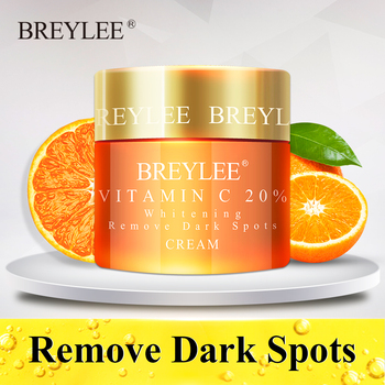 BREYLEE Vitamin C Whitening Facial Cream 20 VC Fade Freckles Remove Dark Spots Melanin Remover Skin
