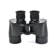 Tactical 7×40 Bronze Binoculars Night Vision Telescope Rangefinder Big Eyepiece Outdoor Military Camping Hunting Binoculars