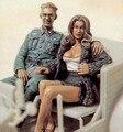 1:35 Немецкий офицер с леди два рисунок набор
