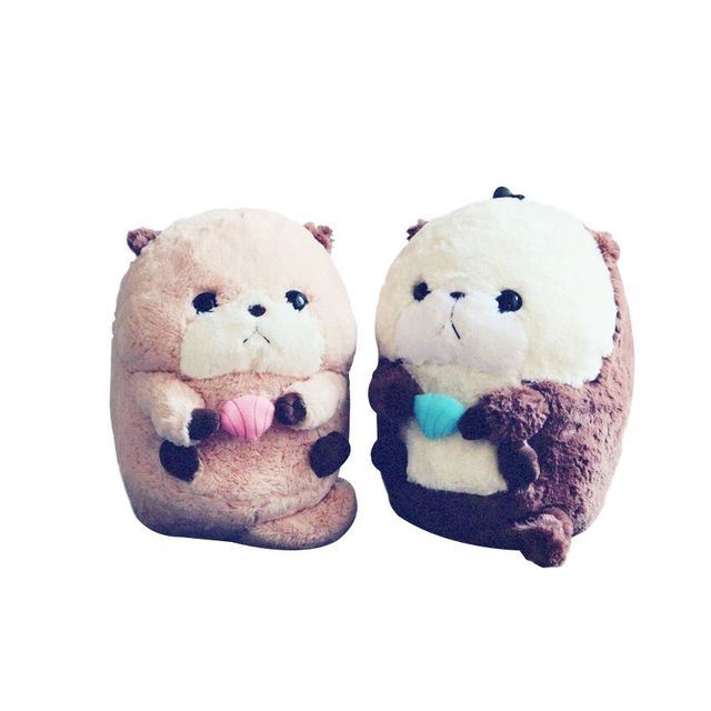 1pc 35cm Stuffed Animal Plush Sea Otter Soft Plush Toy Cute Creative Doll For Kid Best Gift For Girlfriend