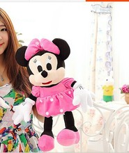 cute mickey mouse toys plush plush small pink minne mouse dolls gift about 45cm