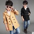 Детская одежда Ветер Пальто Кардиган Куртки для мальчиков Марка мальчики весна и Осень Тенденция Стиль подросток мальчики верхняя одежда для Детей Пальто 6-16Y