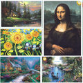 1000pcs Luminous paper jigsaw puzzle,famous painting master education learning,gift for friends kids adult children boys girls