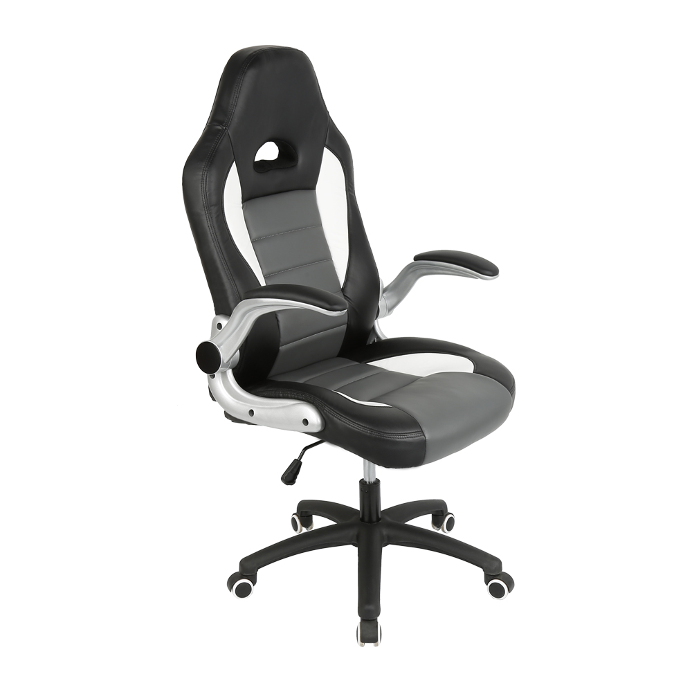 Racing Synthetic Soft Leather Cyber Gaming Chair Internet