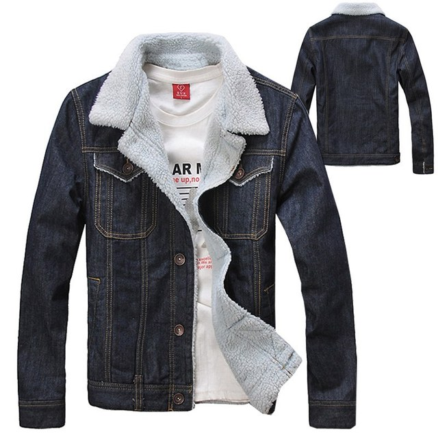 2016 Autumn Winter Fashion Men's Fleece Coats , Men Warm ...