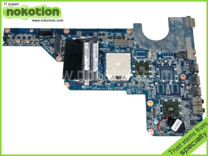NOKOTION 638856-001 Laptop motherboard for HP G4 DDR3 Mother boards Mainboard full Tested nokotion 653087 001 laptop motherboard for hp pavilion g6 1000 series core i3 370m hm55 mainboard full tested