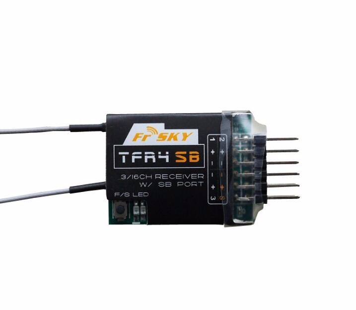 FrsKy TFR4SB 2.4GHz Futaba FASST S.BUS 4CH FPV Receiver frsky tfr6 tfr6 a 7ch 2 4g receiver compatible with futaba fasst frsky tfr6 t8fg 10cg 14sg tf module