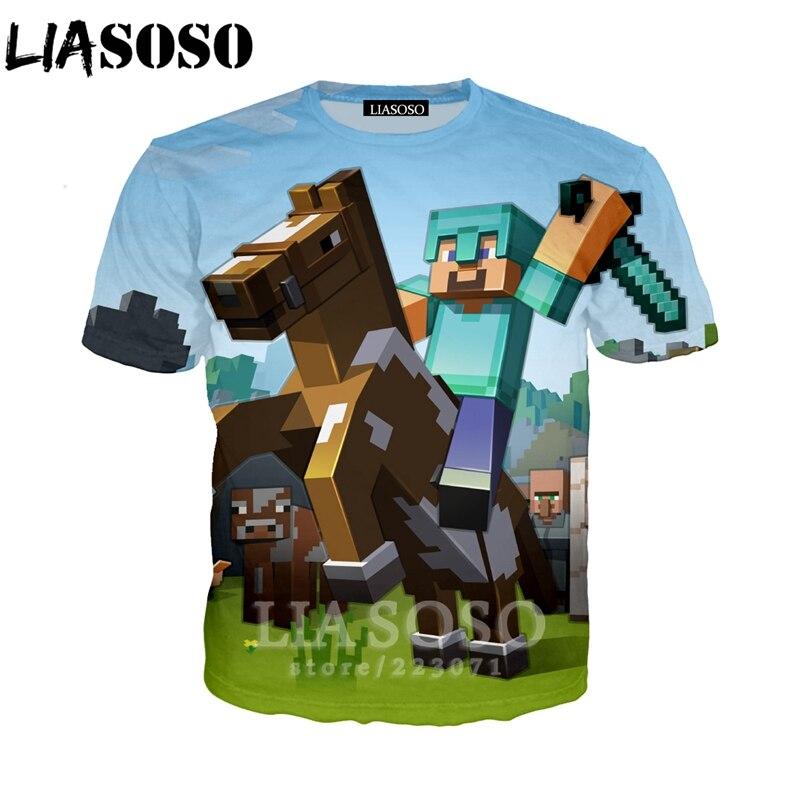 Plstar Cosmos Drop Shipping 2019 New Fashion Men T-shirt Sandbox Games Minecraft World 3d Print Unisex Summer Casual T Shirt Men's Clothing
