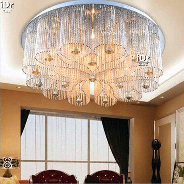 lampen fabriek groothandel led verlichting ronde de woonkamer slaapkamer lamp kristallen verlichting laagspanning plafondverlichting rmy