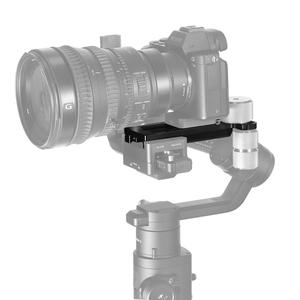 Image 5 - Монтажная пластина для камеры SmallRig BMPCC 4k для DJI Ronin S Gimbal для Sony/Canon/Nikon Camera 2308