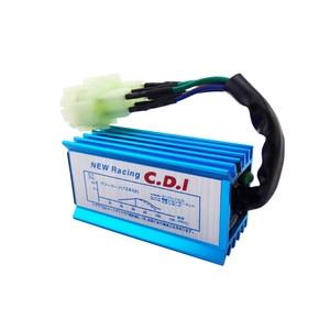 Image 4 - สีฟ้า 6 Pin Racing AC CDI GY6 รอบ Pin Ignition กล่องสำหรับ 50cc 90cc 110cc 125cc 150cc เครื่องยนต์ 2 จังหวะรถจักรยานยนต์สกู๊ตเตอร์ ATV Quad Buggy