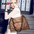 OGRAFF Женщины сумку 2017 Скраб роскошь Цепи сумочка известные дизайнерский бренд сумки женщины кожаные сумки женщины вестник мешки старинные