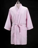 Rose Cute Little Sheep Lamb Luxury Floral Microfiber Bathrobe Robe Puffy Eco Friendly Women Ladies Girl
